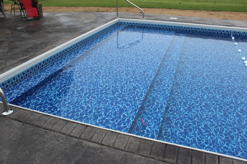 Vinyl In Ground Pool - Round Designs