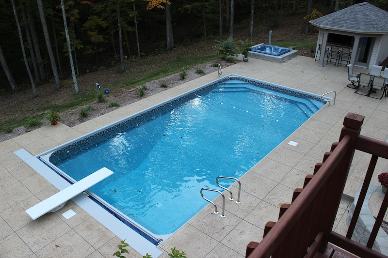 Columbus swimming pool photos inground pools above ground - Above ground swimming pool rental ...